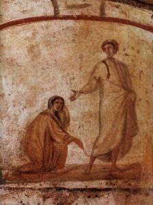 Healing of a Bleeding Woman