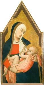 Ambrogio Lorenzetti Madonna del latte