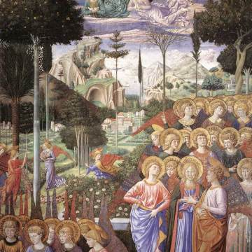 Gozzoli, Angels Worshipping
