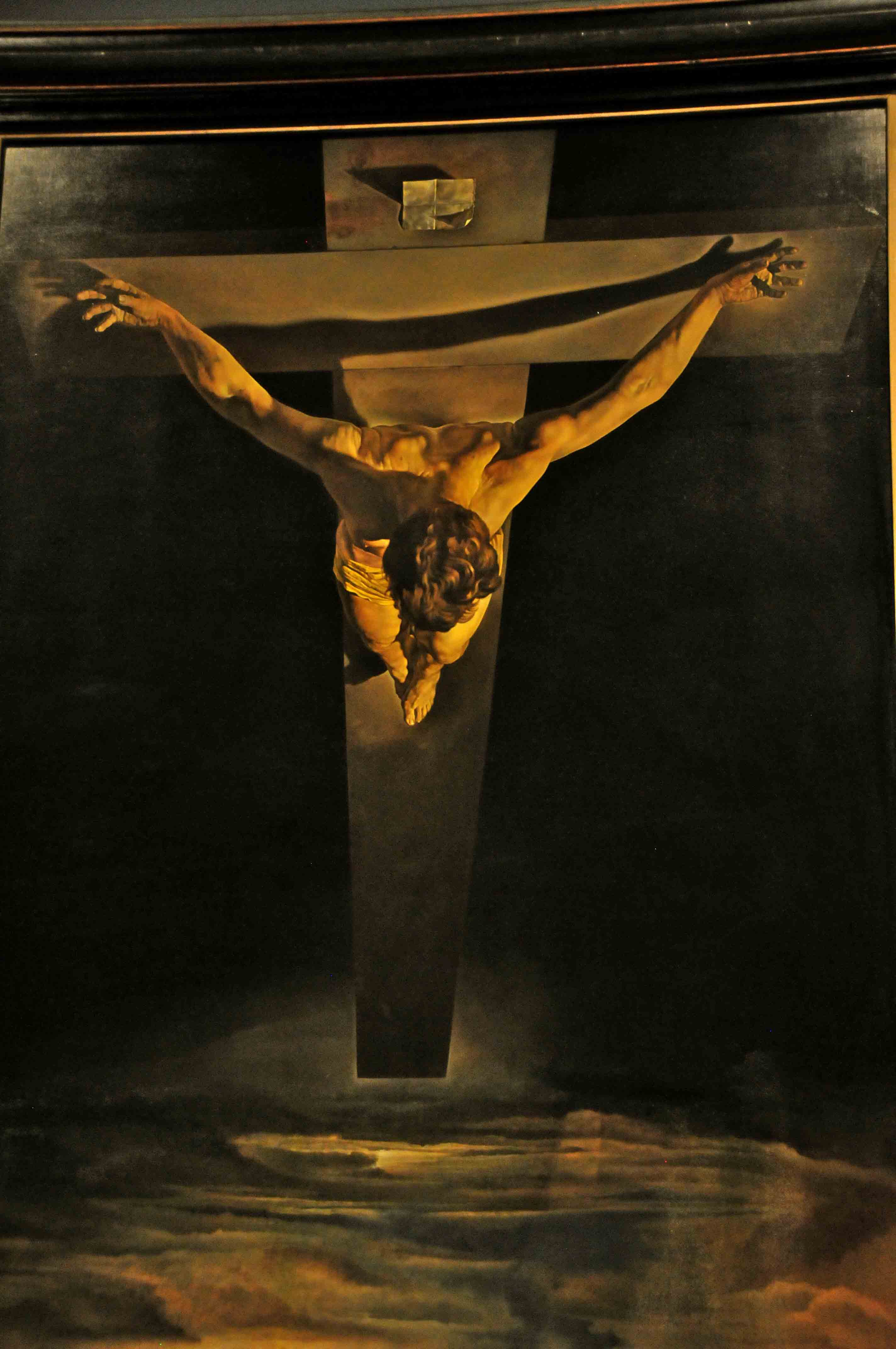 a representation of the crucifixion of jesus christ in the paintings the crucifixion by joos van cle The anne boleyn files in his study by albrecht durer and joos van cleve's references to jesus christ as a ram in christian writings and.