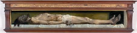 Holbein Christ in grave