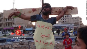 ISIS crucifixtion