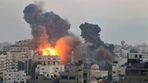 Israel bombs gaza