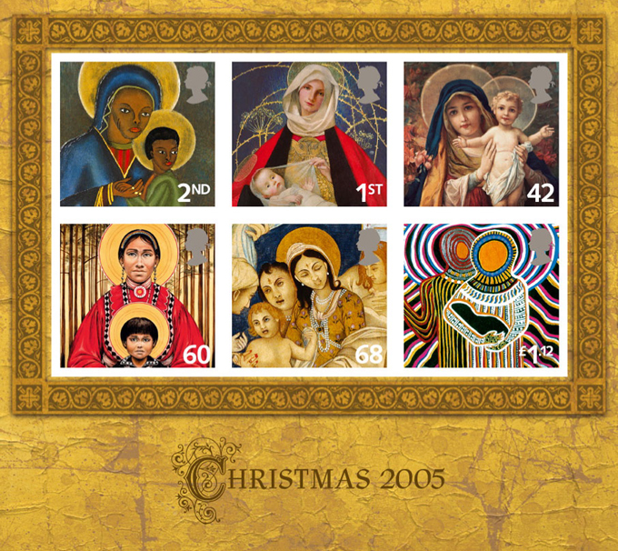 Christmas Stamps Royal Mail