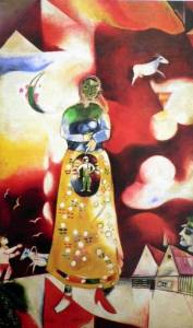 Marc Chagall, The Pregnant Woman