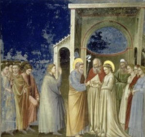 Giotto di Bondone, The Marriage of the Virgin