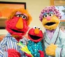 Elmo and Parents