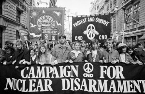 Campaign for Nuclear Disarmament Protest in London