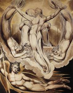 William Blake Christ as the Redeemer