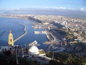 ALGERIE 'Oran VUE la radieuse