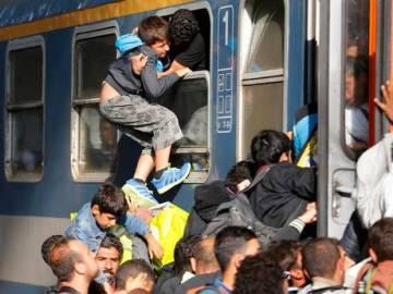 Budapest refugees