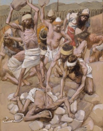 x1952-196, The Sabbath-Breaker Stoned, Artist: Tissot, Photographer: John Parnell, Photo © The Jewish Museum, New York
